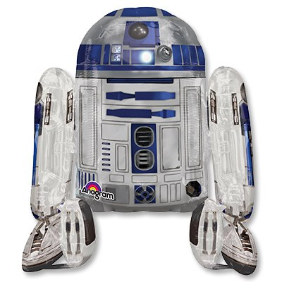 Ходячая фигура Звёздные Войны R2D2 (112 см)
